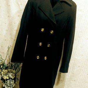 Liz Claiborne long pea coat